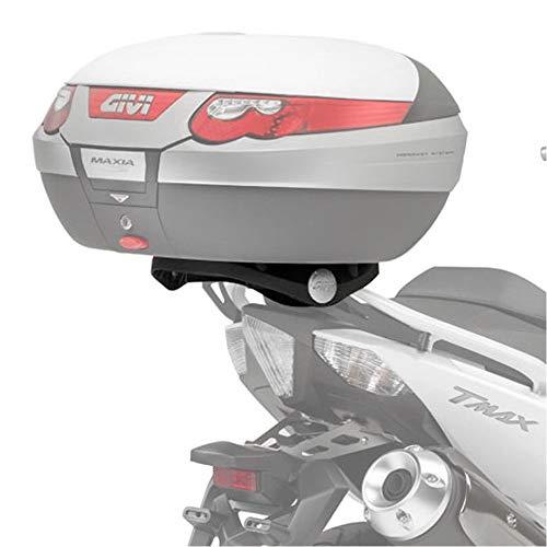 Givi SR2013 Support de Valise Top Case Monokey Noir de nouvele Conception avec Une Plaque M5 / capacité Chargement 6 kg Yamaha XP 500/530 T-Max-année de Fabrication: 09-14