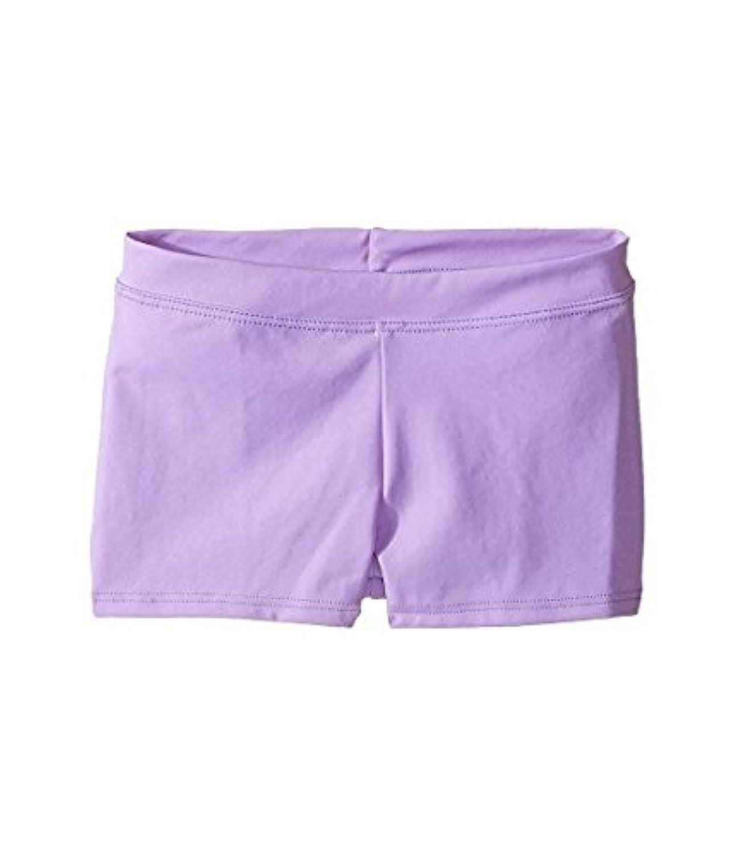 カペジオ Capezio Kids キッズ 女の子 ショーツ ハーフパンツ Vibrant Violet Team Basic Boycut Low Ris [並行輸入品]