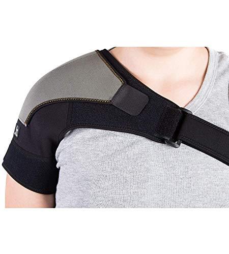 Astorn Schulterbandage AC Joints & Tendonitis, Schulterstütze zur Schmerzlinderung und zum Schutz vor Verletzungen, Einzelschulterstütze für Rotatorenmanschettenbandage für Frauen und Männer