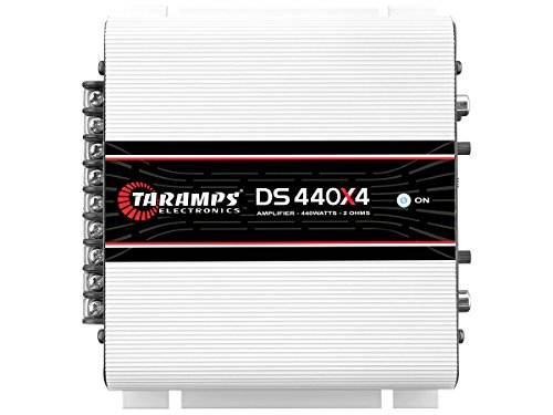 Why Choose Taramps DS 440X4 2 Ohms 4 Channels 440 Watts Compact Amplifier