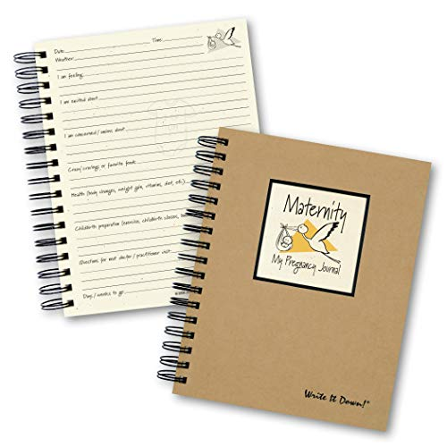 Maternity, My Pregnancy Journal (Natural Brown)