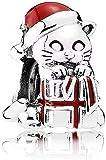 VVHN Regali di Natale Inverno Perle delgattino di Natale Si Inserisce Fascino Pandora Perle Bracciali Bacca Rossa Fascino dello Smalto per Monili Che Fanno