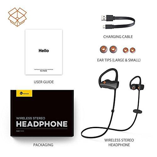 TaoTronics TT-BH10 Bluetooth Earphone 5