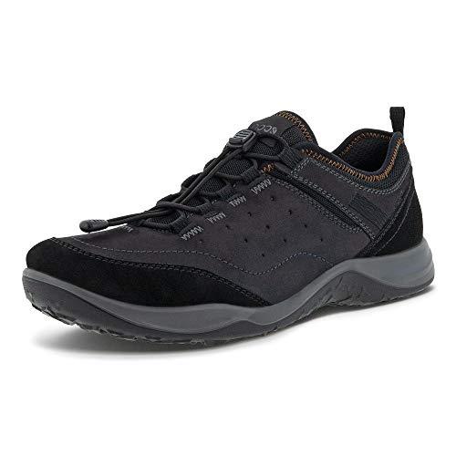 ECCO Espinho Speed - Zapatos de senderismo para hombre, Negro/Negro (Black/Black Suede), 36.5/37 EU