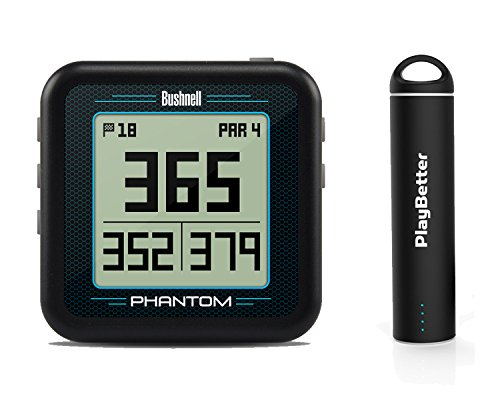 Bushnell Phantom (Black) Power Bundle with PlayBetter Portable USB Charger...