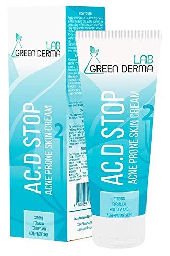 Tratamientos de Acné AC.D Stop Crema para manchas & Puntos Negros, apto para pieles sensibles, calma las rojeces y previene la aparición de cicatrices - Cuidado para piel grasa