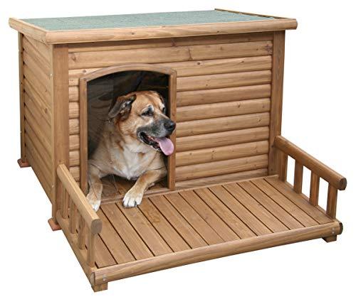 Kerbl Hundehütte mit Terrasse, 113 x 127 x 83 cm - 2