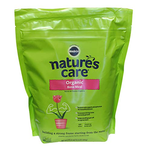 Miracle-Gro Nature's Care Organic Bone Meal, 3 lb.