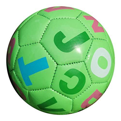 Perfeclan Pelota de fútbol Suave de 6', Mini Pelota de Entrenamiento de Juguete para bebés y niños pequeños, Deportes Seguros, Principiantes y - Verde