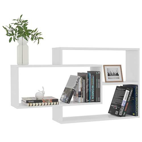 Pissente Cesta extraíble para cocina, con 5 niveles de almacenamiento, de madera + tela con 3 contenedores colgantes para escritorio, librería, 104 x 20 x 60 cm (largo x ancho x alto).