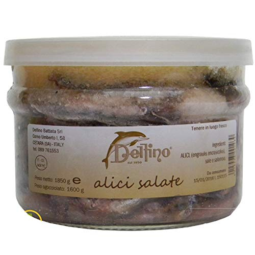 Alici Salate di Cetara in vaso da 1600ml