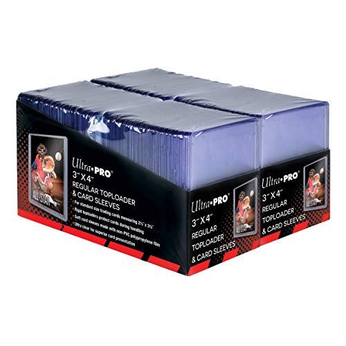 "Ultra Pro 3"" x 4"" Trading Card Toploader & Card Sleeve Bundle (200 ct.)"