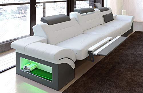 Moderne bank Monza als 2 zitbank met verlichting