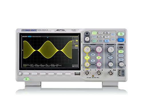 Siglent Technologies SDS1202X-E 200 MHz Digital Oscilloscope 2 Channels