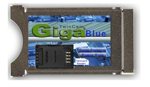 GigaBlue Twin CAM CI-Modul für HD+ HD01/HD02/Sky S02/V13, ORF UVM. (xCrypt)