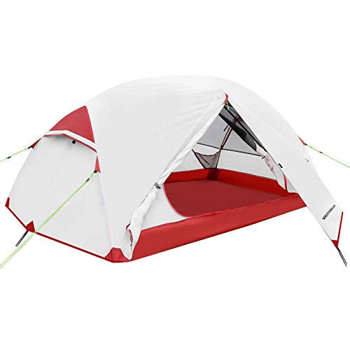 WhiteHills 1-2 Person 3-Season Lightweight Backpacking Tent  $42 at Amazon