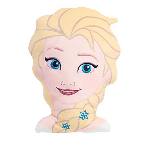 Disney Frozen 2 Character Head 13.5-Inch Plush Elsa, Soft Pillow Buddy Toy for Kids
