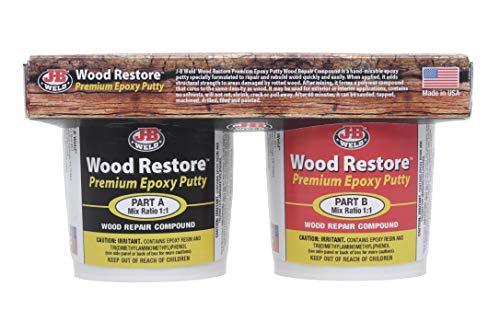 J-b weld 40006 wood restore premium epoxy putty kit - 32 oz.