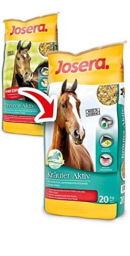 JOSERA Kräuter Aktiv Pferdefutter Probiereimer