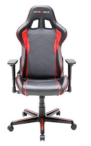 DX Racer OH/FL08/NR Siège Gaming Noir/Rouge