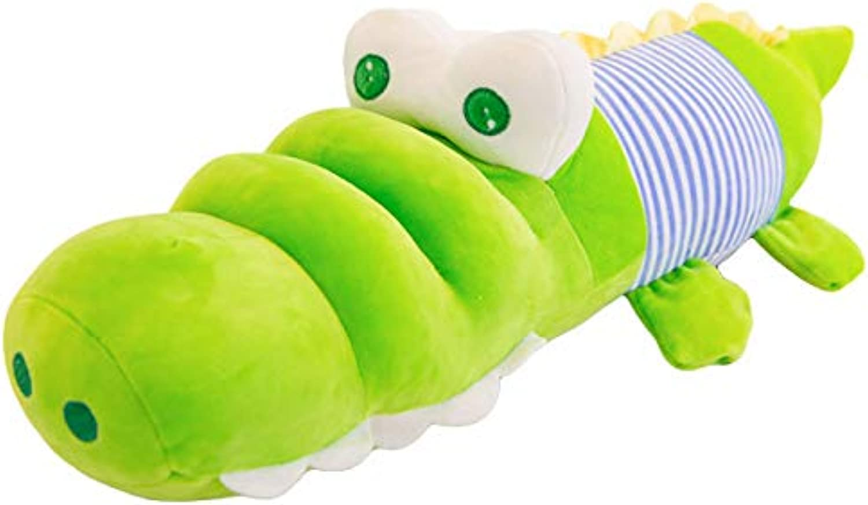 Generic Grougige Alligator Puppe, Trommel-Auge Alligator, Kissen Plüsch Puppe Puppe