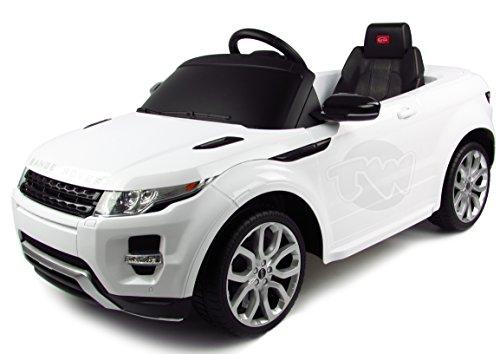 Range Rover EVOQUE 12V Kids Electric Car (White)