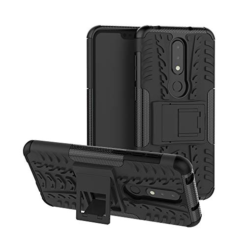Nokia 6.1 Plus (2018) / Nokia X6 Handy Tasche, FoneExpert Hülle Abdeckung Cover schutzhülle Tough Strong Rugged Shock Proof Heavy Duty Hülle Für Nokia 6.1 Plus (2018) / Nokia X6