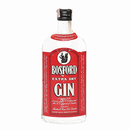 Bosford Extra Dry London Gin 1970s 1l