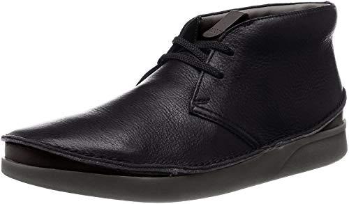 Clarks, Stivaletti Uomo, Nero (Schwarz (Black Leather Black Leather)), 41.5 EU