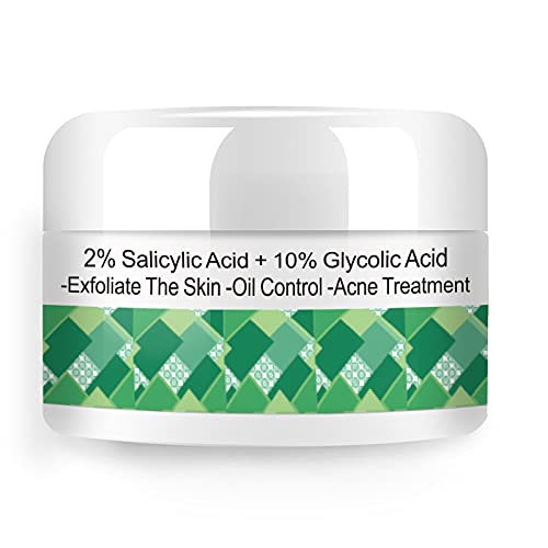 Grocerism Glycolic Acid 10% and Salicylic Acid 2%, Acne Pads and Acne...
