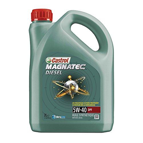 Castrol 055122 Huile Moteur Magnatec Diesel 5W-40 DPF, 2 L