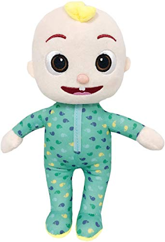 JJ and Melon Plush Stuffed Animal Toys, Friends & Family Character Toys for Babies, Toddlers, and Kids Gifts (JJ)