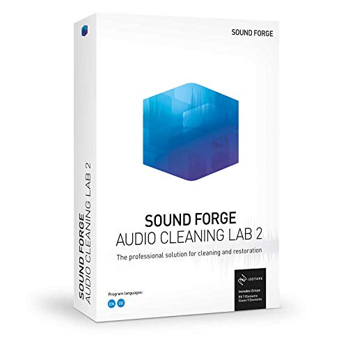 SOUND FORGE Audio Cleaning Lab|2|1 Device|Perpetual License|PC|Disc|Disc