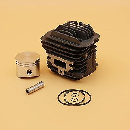 Juego de 45 mm de pistón de cilindro premium duradero para EMAK OLEO MAC 952 EFCO accesorios de piezas de reparación de motosierra de jardín 50082012