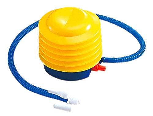 プール用空気入れ 小型エアーポンプ サイズ5インチ ボート エアーマット ウキワ 家庭用プール 水遊び プール うきわ 海水浴