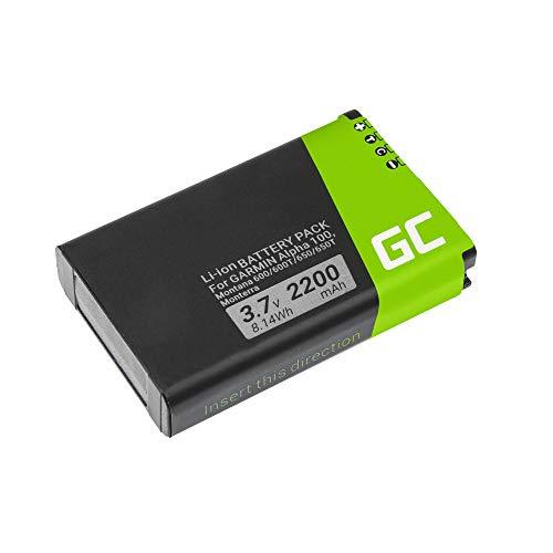 Green Cell ® 361-00053-00 Batería para navegación GPS Garmin Alpha 100 Handheld Montana 600 600T 600t Camo 650 650T Monterra (Li-Ion Células 2200mAh 3.7V) garantía de un año, envío rápido
