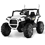 Uenjoy 12V Electric Ride on Cars, Realistic...