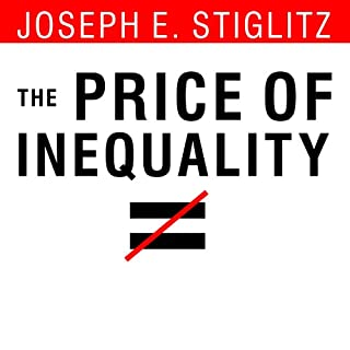 The Price of Inequality audiobook cover art