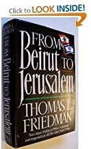 FROM BEIRUT TO JERUSALEM Hardcover – 1988