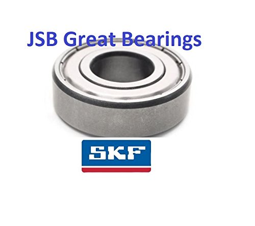Ball Bearing Skf 6201 Zz 2z C3 For Shaft 12 Mm 12 X 32 X 10 Mm Single Row Deep Groove Ball Bearing Sealed On Both Sides Business Industry Science
