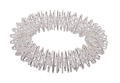 Handgelenksmassagering, Massage Ring für Handgelenk, Silber, Durchmesser: 6,5 cm