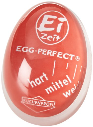 Küchenprofi Eier-Uhr-1009250000 Eier-Uhr Ei-Zeit in rot, Kunststoff