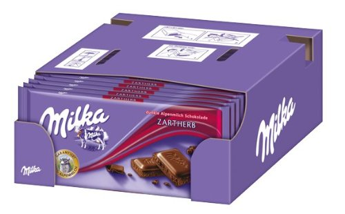 Milka Zartherb, 21er Pack (21 x 100 g)
