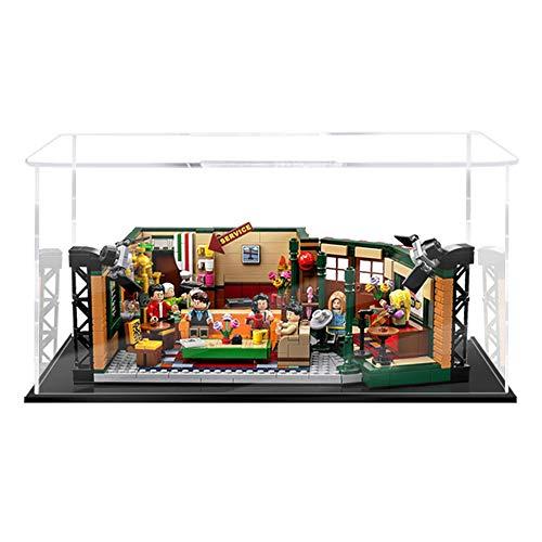 Vitrina de Acrílico para Lego 21319 Ideas Central Perk Friends, Display Case Vitrinas para Colecciones Modelismo (Solo Vitrina) (2mm)