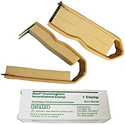 Cunningham incontinence penile clamp for men