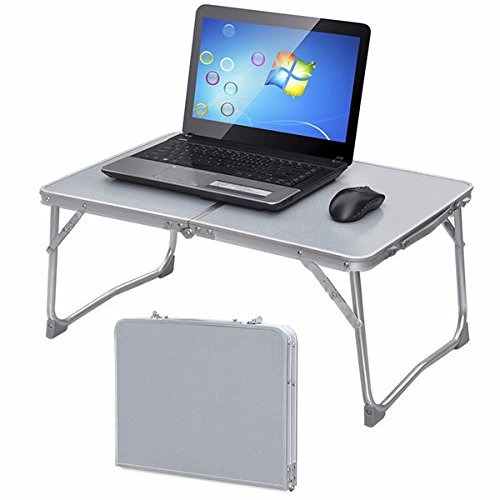 Bazaar Portable pique-nique de camping table pliante bureau ordinateur portable plateau de lit portable