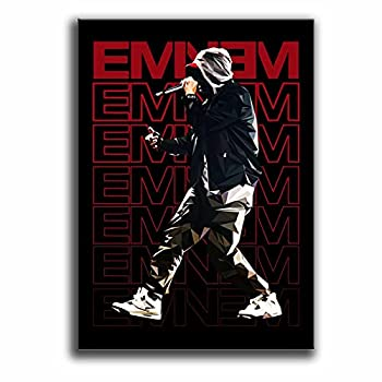 Eminem Poster Canvas Decoration Wall Art for Living Room Oil Paintings for Office Decor Ready to Hang for Home 24x36inch 60x90cm  Unframed
