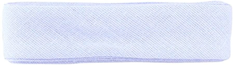 Inastri Cotton Bias Binding 25/5/5mm Colour Sky Blue 24 – 3m, 100%, 13 x 11 x 2 cm