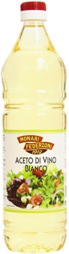 Monari Federzoni - Aceto Di Vino Bianco, Acidità 6% - 6 pezzi da 1 l [6 l]