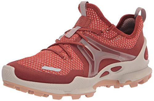 ECCO Women's Biom C-Trail Knit Running Shoe, Cayenne/Cayenne, Numeric_10_Point_5